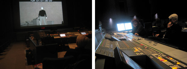 Rose Bond and Judith Gruber-Stitzer Mixing Electroflux at NFB
